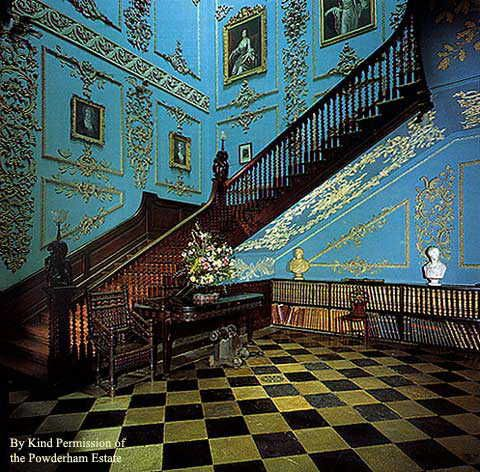 Powderham Castle - Staircase & Hall