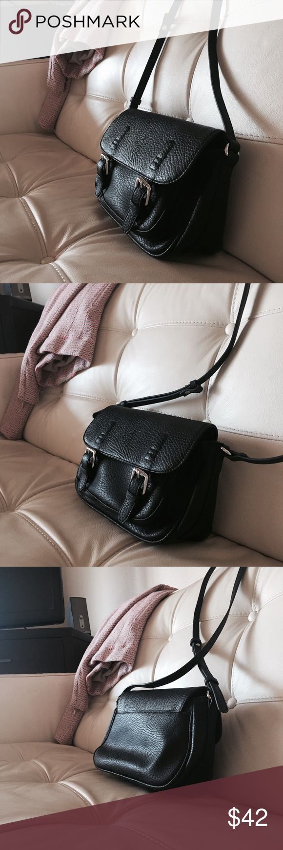 Mango Barcelona Fuax Leather Crossbody 100% new without tags. Literally new I bought it in Barcelona two weeks ago and never used it Urban Outfitters Bags Crossbody Bags