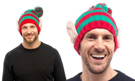 Save on One or Two Men's Christmas Elf Novelty Hats One or Two Men's Christmas Elf Novelty Hats  >> BUY & SAVE Now!