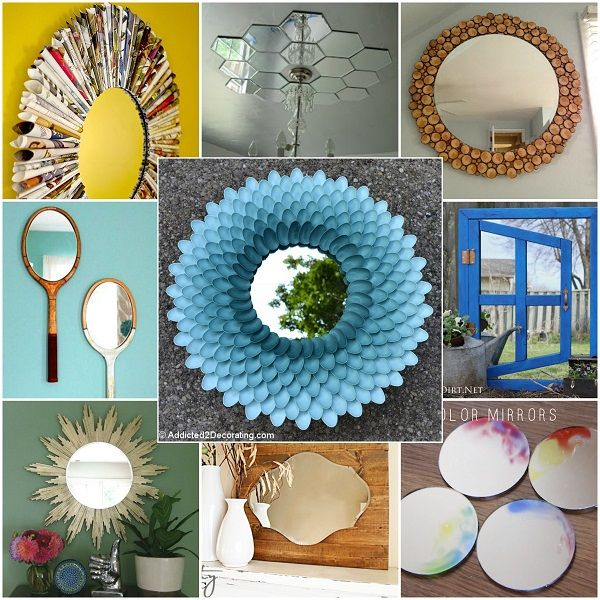 18 Incredible Ways To Turn An Old Mirror From Boring To Stunning! 2
