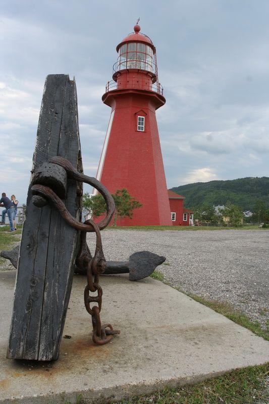 (Wooden Lighthouse) La Martre de Gaspé, Quebec by dedegeneral