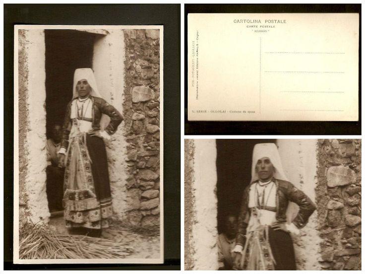 Cartolina V° Serie Ollolai Costume da sposa Sardegna – non viaggiata FOR SALE • EUR 15,00 • See Photos! Money Back Guarantee. Normal 0 14 false false false IT X-NONE X-NONE 152436787136