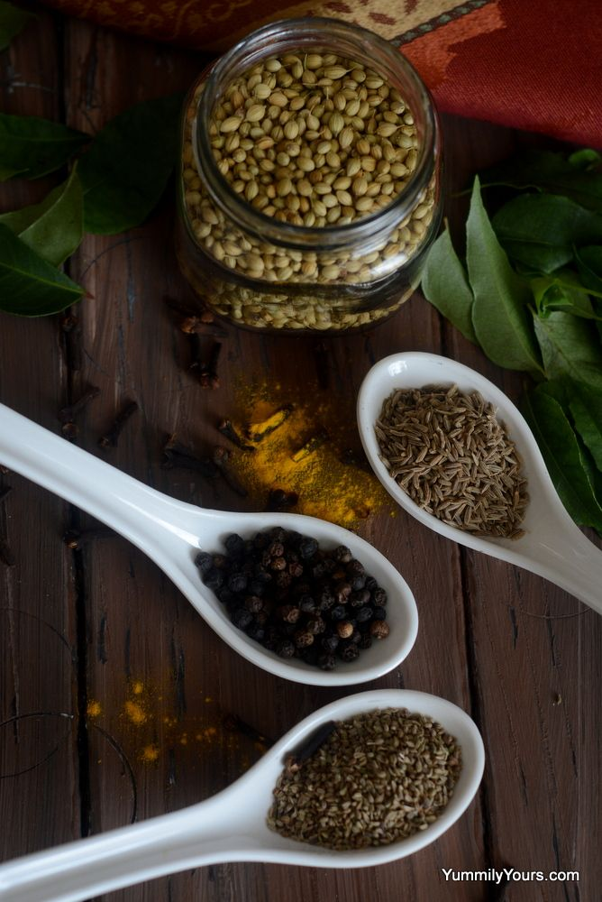 Kashaya- Herbal Tea with Indian Spices that is an ideal home remedy for the cold and flu season