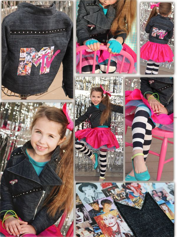 girl. Inspired.: Totally 80s Rocker Girl: Project Run and Play