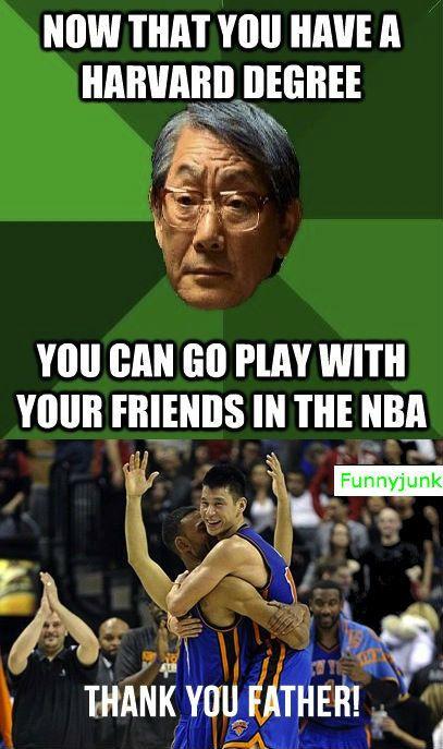 Oh Jeremy Lin..