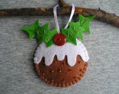 Voelde Kerst ornamenten sneeuwpop, set van 3, boom ornamenten, ornament met lus (of leuke magneet, of op stick), Kerstmis partij gunsten, roze  Kerst