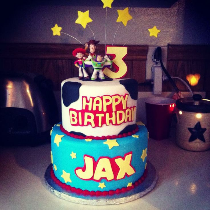 Toy Story Birthday Cake. Made by Sweet Beginnings by Kristen in Mount Carmel, PA