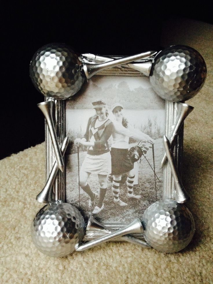 DIY Golf gift, Fathers Day--DIY by my bestie <3 She's so talented!