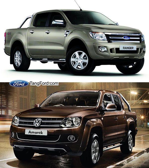 2015 Ford Ranger VS 2015 Volkswagen Amarok