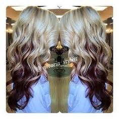 The 25 best burgundy blonde hair ideas on pinterest fall 2016 burgundy hair with blonde underneath bing images urmus Images