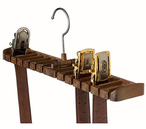 Belt Racks Organizer Frame Belts Hanger 14Slot Holder Stylish Closet ABS Plastic #TenbyLiving