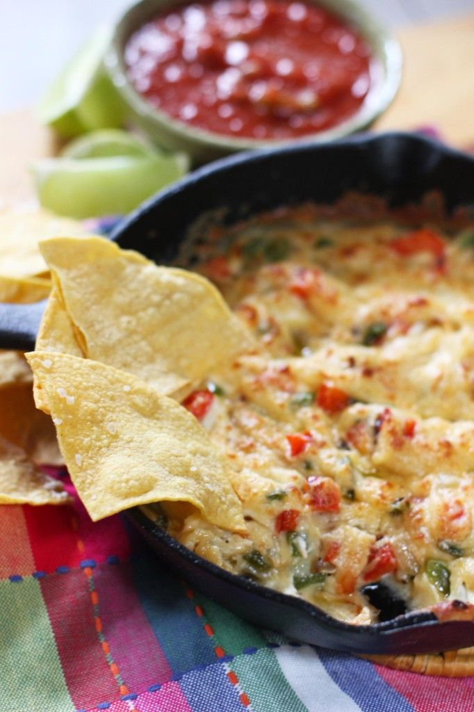 Skillet Queso Dip