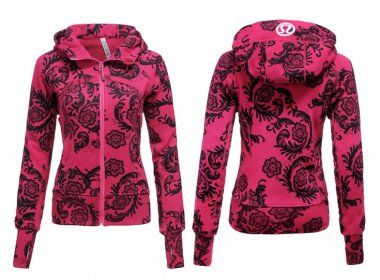 Lululemon Yoga Scuba Hoodie Red Flower : Lululemon Outlet Online, Lululemon outlet store online,100% quality guarantee,yoga cloting on sale,Lululemon Outlet sale with 70% discount!$59.69