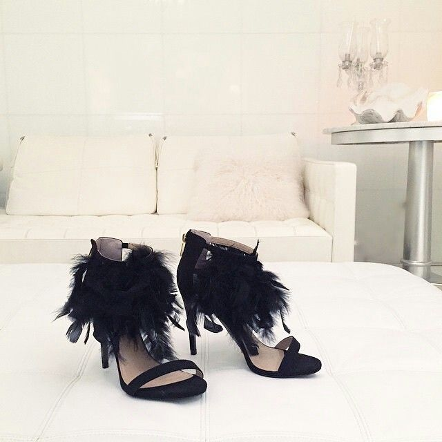 Feathers and heels
