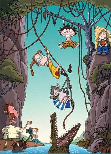The Wild Thornberrys!! I so miss this show alot, this was true tv ...Stupid Nickelodeon, darn you