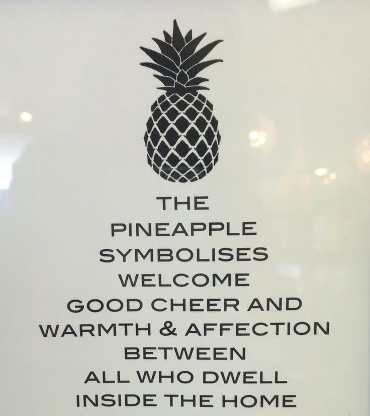 Good New Home Gifts Part - 35: A Reason Why A Pineapple Could Be A Good Hostess Gift Http://hubz