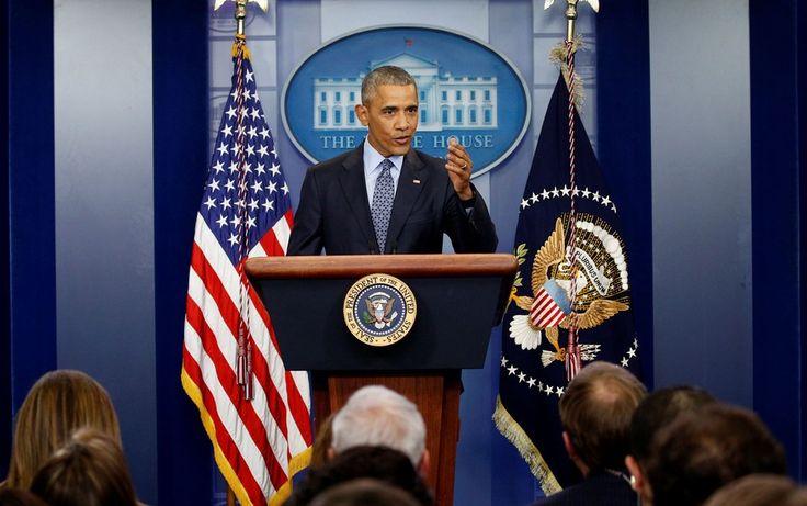 'EUA vão ficar bem', diz Obama em última coletiva como presidente
