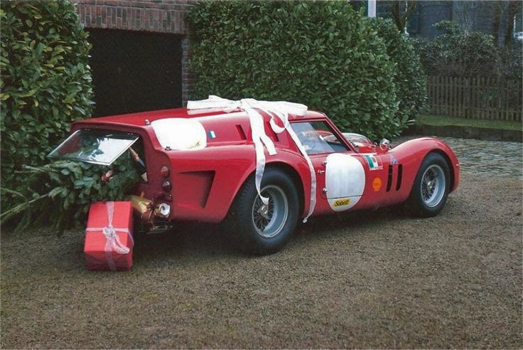 Ferrari 250 gto breadvan christmas sled holidays for Ferrari christmas