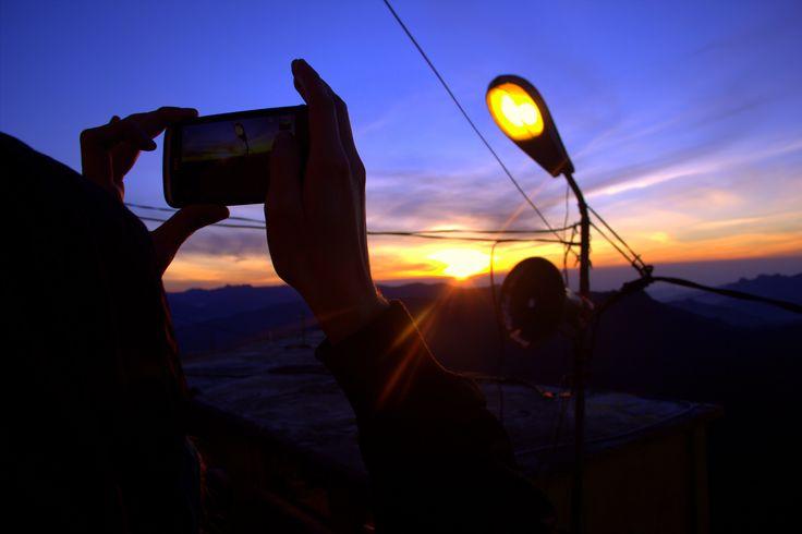 Adam's Peak Sunrising