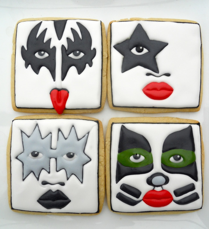 Kiss (Square Cookie Cutter)