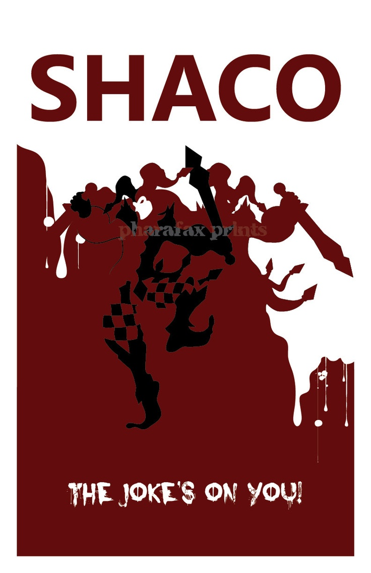 Shaco League of Legends Print by pharafax...