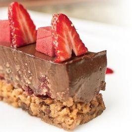 Epres csokoládétortácska