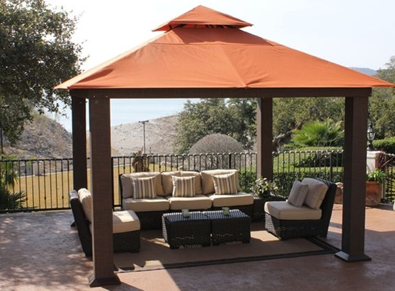 aluminum gazebo - Gazebo Patio Ideas