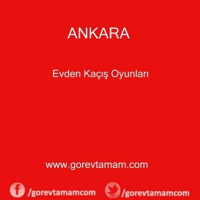 Ankara Evden Kaçış Oyunları
