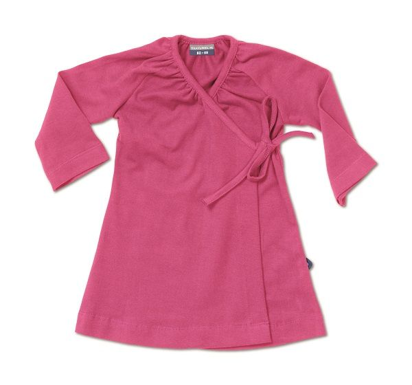 Basic baby dress. Ultrasoft and übercute.  Silky Label Supreme Pink dress, up to 4 years