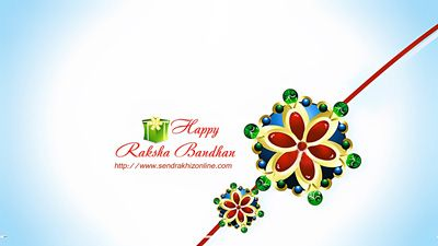 Raksha Bandhan is a festival of bond between sister and brother. On Raksha Bandhan sister ties Rakhi thread on brother's wrist and this Rakhi is a thread that binds two souls in a bond of joy forever. Send Rakhi Online wishes you Very Happy Raksha Bandhan to all of you. Visit our website to Send Rakhi Online : http://www.sendrakhizonline.com