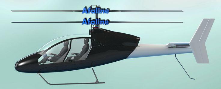 вертолёт соосной схемы с