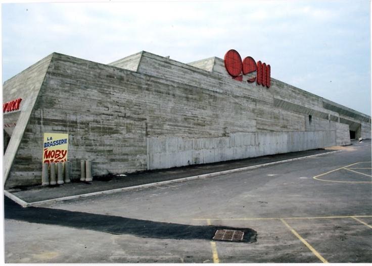 Centre commercial de sens claude parent 1970 cc leslie - Photographe nice centre ...