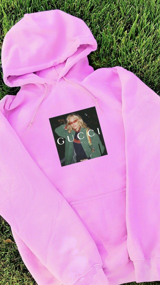 Gucci Model Hoodie The Custom Movement In 2020 Gucci Models Trendy Hoodies Vintage Hoodies