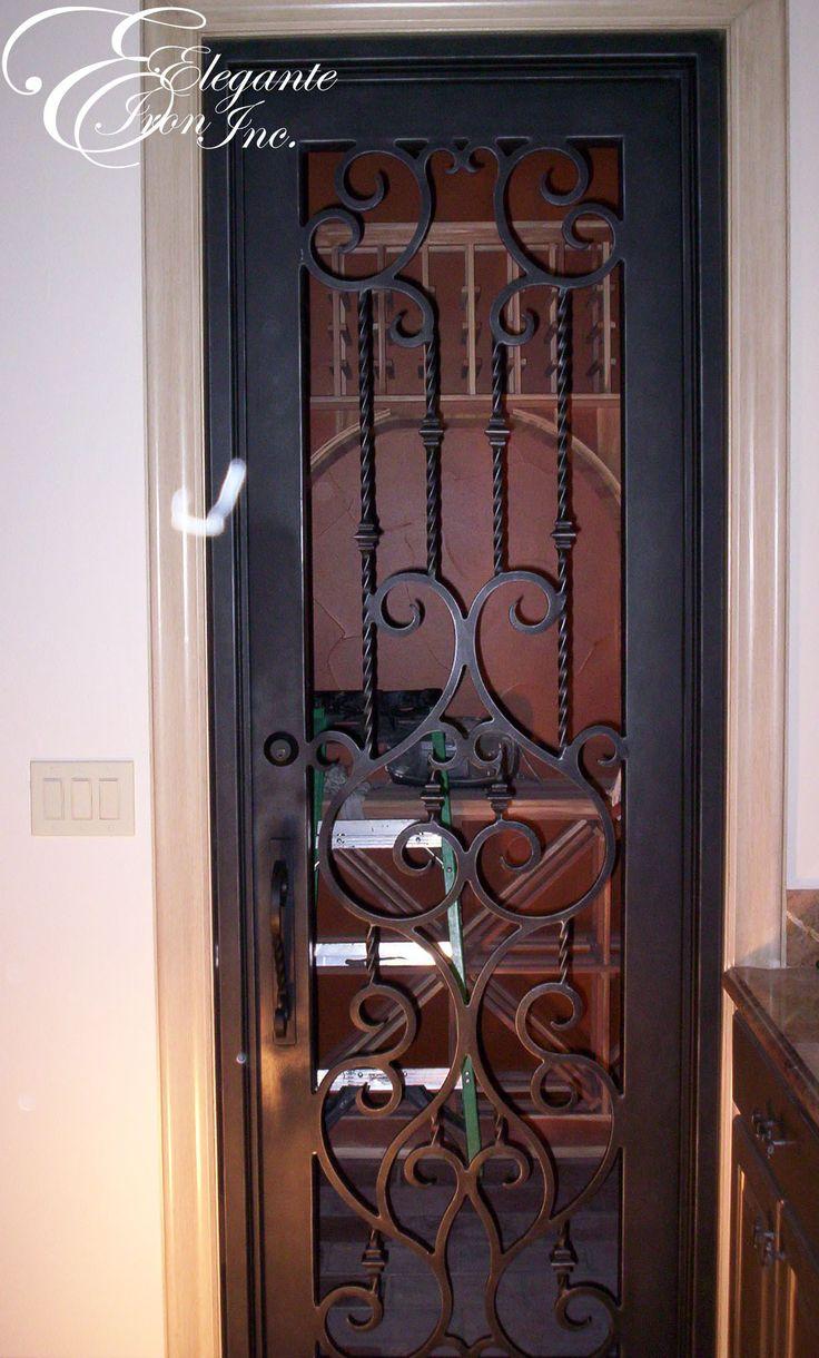 39 Best Wine Doors And Other Elegante Iron Interior Doors Images On Pinterest Indoor Gates