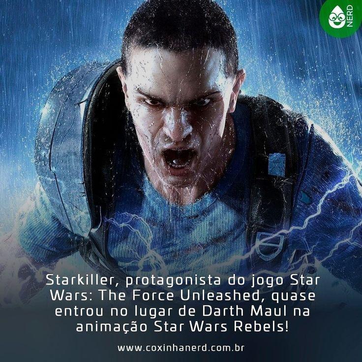 #CoxinhaNews EITA!   #TimelineAcessivel #PraCegoVer  Imagem Starkiller com a legenda: Starkiller protagonista do jogo Star Wars: The Force Unleashed quase entrou no lugar de Darth Maul na animação Star Wars Rebels!   TAGS: #coxinhanerd #nerd #geek #geekstuff #geekart #nerd #nerdquote #geekquote #curiosidadesnerds #curiosidadesgeeks #coxinhanerd #coxinhagames #games #jogos #starwarsgames #starwars #starwarsrebels #starkiller #starwarstheforcewnleashed