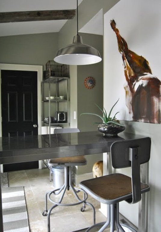 5. Neutral means beige — Wrong! Neutral colors are any that contain both warm and cool tones. Beige is one, but it's certainly not the only one. The muted sage below is a perfect example of a non-boring, colorful neutral. With beige walls, this room would be blah, but change the shade just a touch and it becomes sophisticated, layered and beautiful.