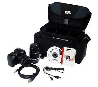 Father's Day Gift??  -  Canon Rebel T3 DSLR 12.2MP Camera with 2 Lens Kit