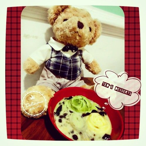 "Oriental Desserts is Ted""s  Favo"