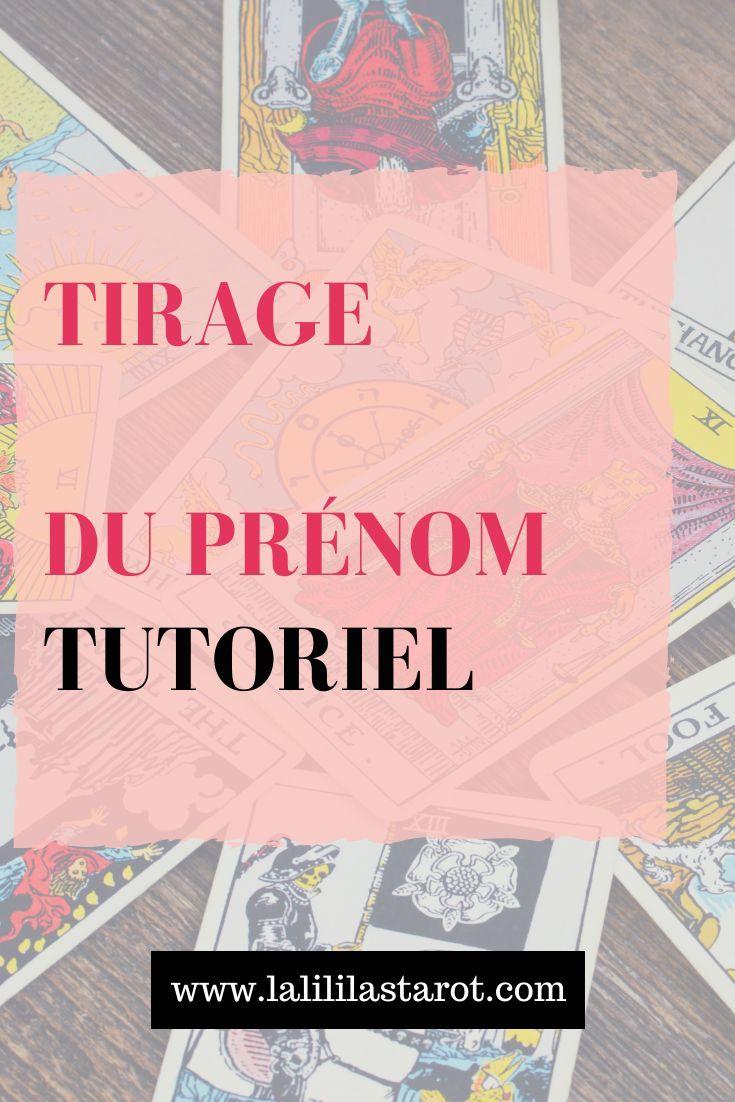 voyance gratuite carte prénom Épinglé sur Le Tarot et la Voyance