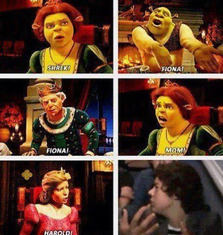 "Hahahaha!!! Harry's like ""what did I do?"" Haha I thought of HAROLD when she yelled that!!!:)"