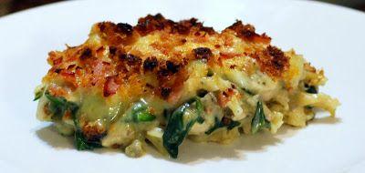 Thermolicious: Chicken, Chorizo, Spinach, Mushroom & Broccoli Pasta Bake