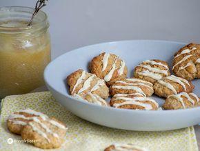 Winterzeit ist Keksezeit. Diese Haferflocken Honig Mandelkekse schmecken aber auch das ganze Jahr gut, zum Beispiel bei einem Picknick.