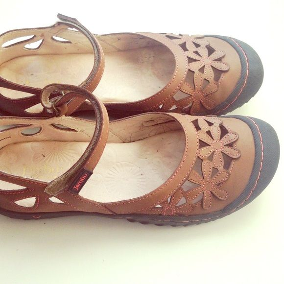 Jambu Sandals Jambu Blossom Women US 8.5 Brown Mary Janes Jambu Shoes Sandals