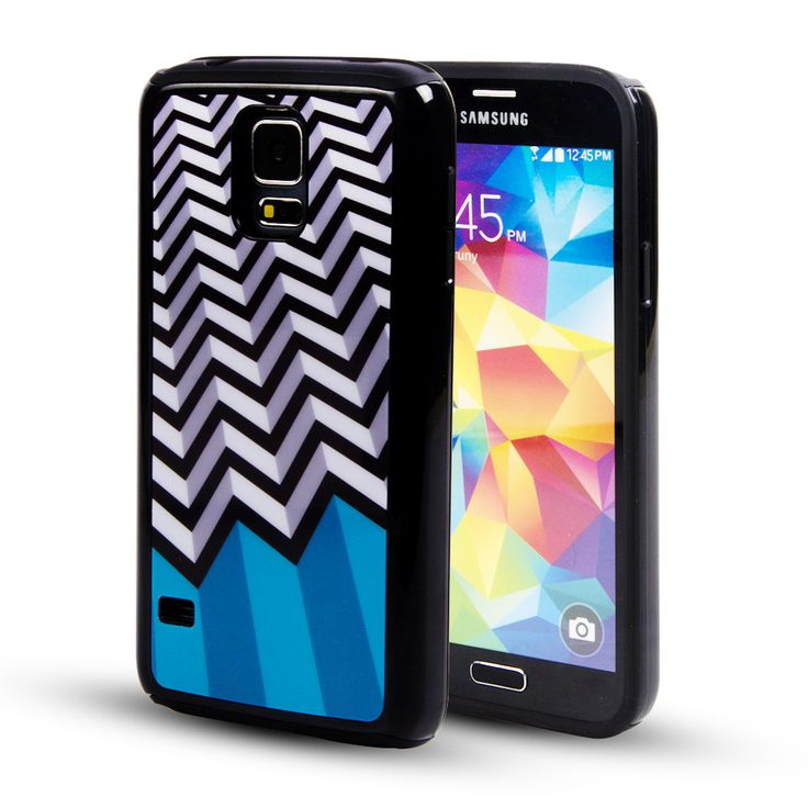 Save 61% Off For KMASHI® Samsung Galaxy S5 Case - Dual Layer With Fashion Pattern Protection case for Galaxy S5 / Galaxy SV / Galaxy S V (2014) (Purple/Stripes) @Amazon - Hot Deals