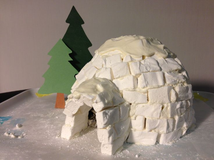 how to build an igloo with marshmallows