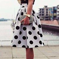 Gender:Girls Clothing Length:Regular Pattern:Polka Dot Style:Fashion