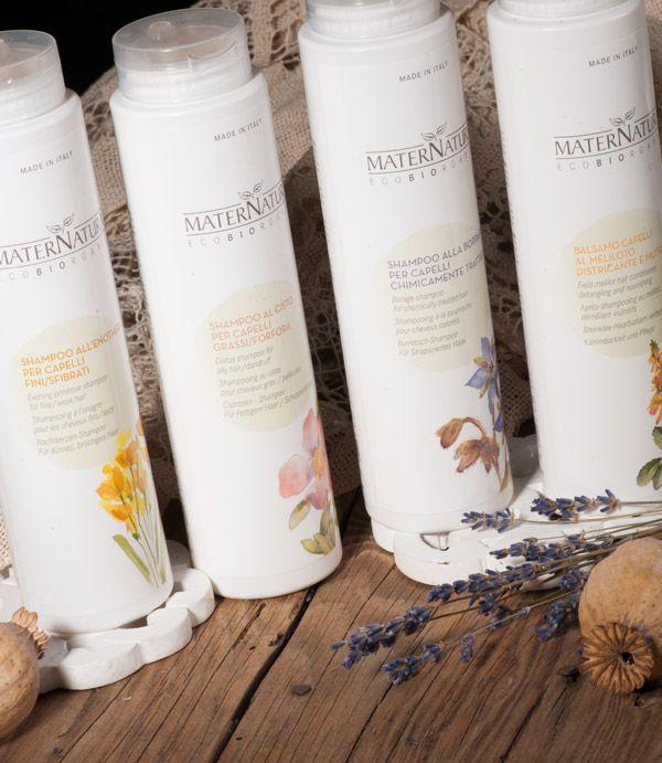 Maternatura cosmetici #madeinitaly#eco-bio shampoo