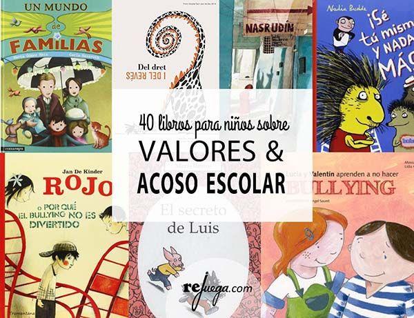 libros infantiles sobre valores y acoso escolar