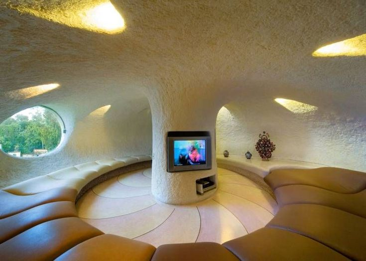 Arquitectura Organica snail house