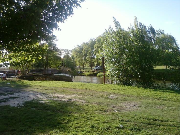 Pesca en laguna Blanca Grande